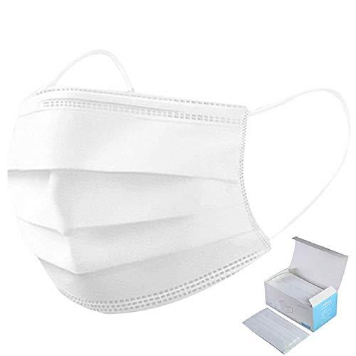 MaNMaNing Protección con Elástico 50 Unidades para Los Oídos 20200723-MANING-NM50 (Blanco Adult)