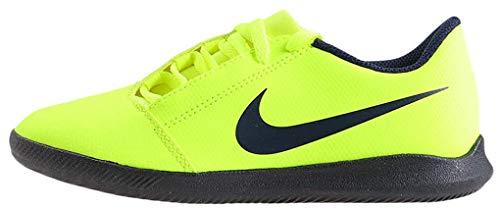 Nike Jr Phantom Venom Club IC, Zapatillas de Fútbol Unisex Niños, Multicolor (Volt/Obsidian/Volt 717), 33 EU