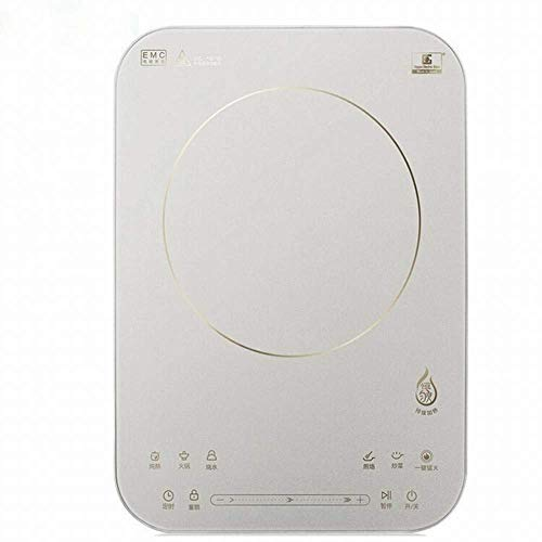 1yess Induktionskocher Home Japan Importiert Neg Panel Smart ultradünner Touchscreen, Silber, 1