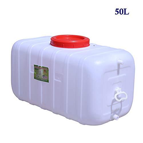 Guoda Wasserkanister PE-Material In Lebensmittelqualität   Mit Auslasswasserventil   Säurebeständig   Mehrzweck   Weiß