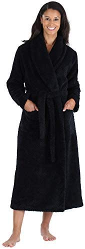 Sleepyheads Women's Plush Manufacturer direct delivery Fleece Robe Sleeve Jacquard Long Bathr Spring new work one after another