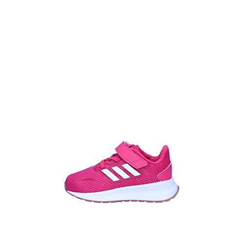 adidas RUNFALCON I, Scarpe da Ginnastica Unisex-Bambini, Rosint/Ftwbla/Gum10, 24 EU
