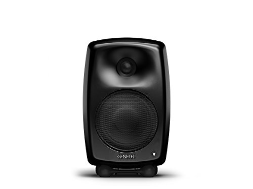 Genelec G Three Aktiv Lautsprecher Active Monitor Speakers, Schwarz (Paar)