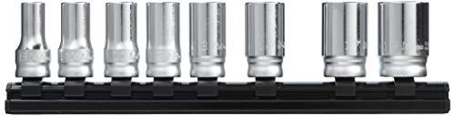 コーケン 9.5mm差込 Z-EALセミディープソケットレールセット8ヶ組 RS3300XZ8
