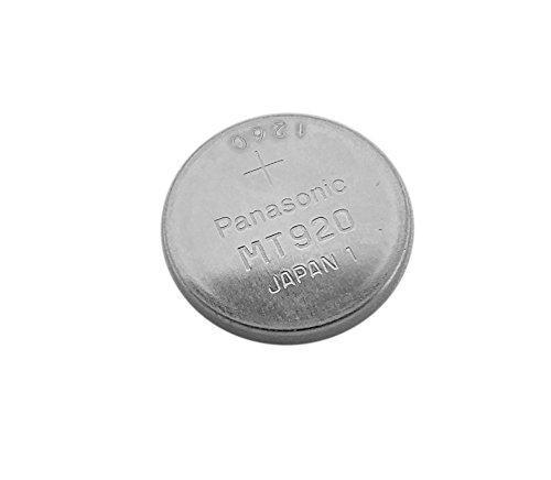 Panasonic Knopfzellen Akku Batterie MT920 Lithium passt in Solar...