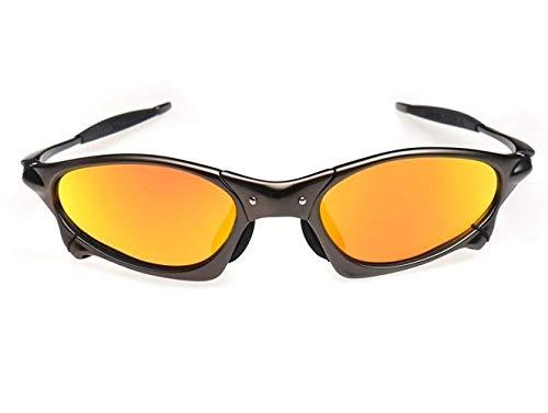 NSGJUYT MTB polarizado Gafas Ciclismo Bicicletas Lentes Hombres/Sol Gafas de Sol UV400 de la Bici