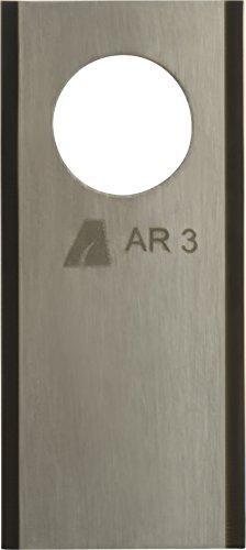 ARNOLD 1111-H5-1009 TiN-Cut AR3 Ersatzklingen passend für Honda Miimo Mähroboter, 9 Stück