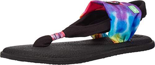 Sanuk Yoga Sling 2 - Sandalias para Mujer, Color Beige, Color, Talla 35 EU