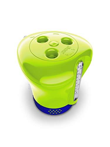 Höfer Chemie GmbH Pool Dosierer inkl. Thermometer - grün - für 20g und 200g Tabletten