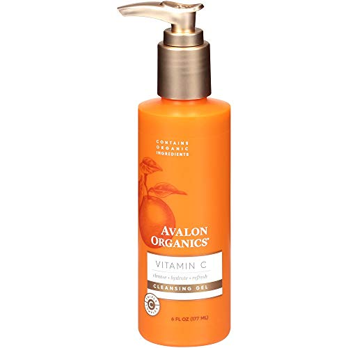 Avalon Organics Vitamin C Cleansing Gel, 6 Fl Oz