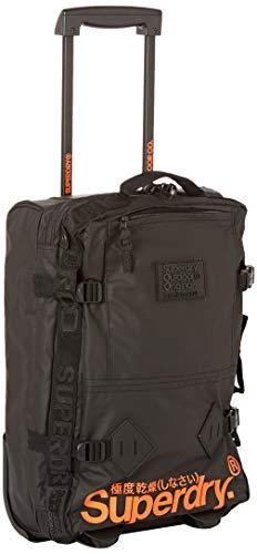Superdry - Travel Range Small Cabin Case, Bolsos de mano Hombre, Negro (Nero), 30x50x15 cm (W x H L)