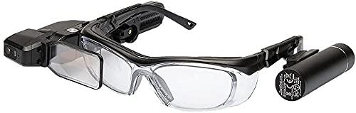 VUZIX M4000 Smart Glasses スマートグラス 3,350mAhバッテリー版、防水防塵非対応 Android OS、Qualcomm XR1 CPU 490T00014