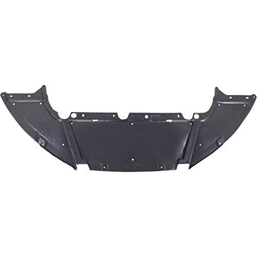 Evan-Fischer Engine Splash Shield compatible with Focus 12-18 Under Cover/Air Deflector Front Hb/Sdn