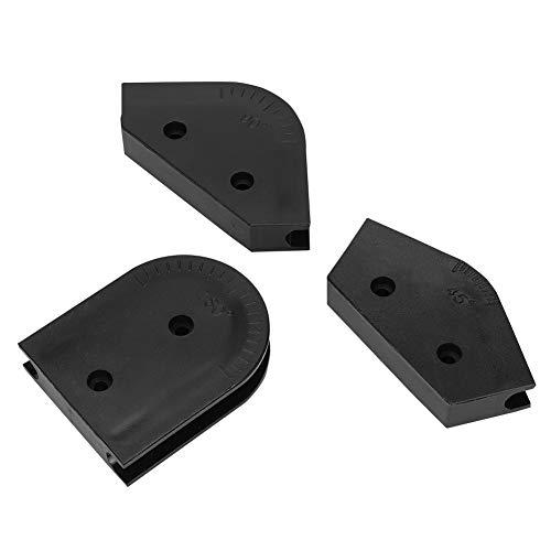 Bewinner Hard Tube Bending Kit, 3pcs 14mm AD 45/90/180-Grad-Acryl-Hartrohr-Bieger-Form-Werkzeugsatz, Wasserkühlung-Biege-Kit Geeignet für Ellbogenformen für die Awgm3-Serie