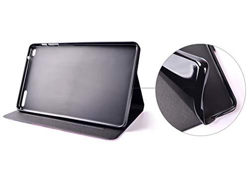 LMFULM® Hülle für Huawei MediaPad T1 10.0 / T1-A21W (9,6 Zoll) PU Leder Ultra Dünn Magnet Lederhülle Stern Traumfänger Muster Standfunktion Tasche Schutzhülle für Huawei T1 10.0 - 6