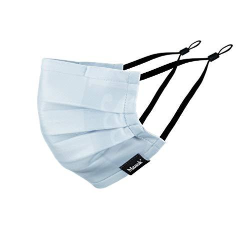 MAASK Shield MASCARILLA HIGIENICA Reutilizable, Adultos Unisex, Azul