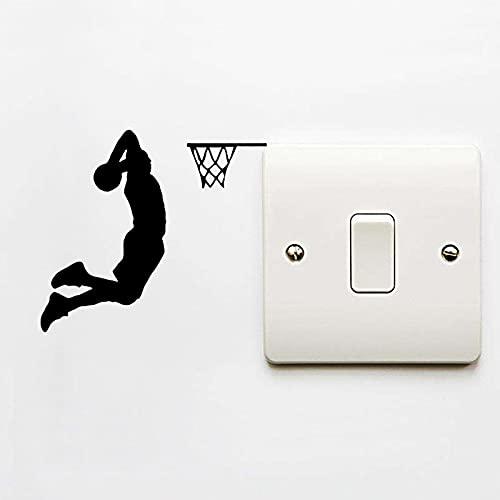 shenlanyu Pegatinas para interruptor de 4 piezas, diseño de jugador de baloncesto