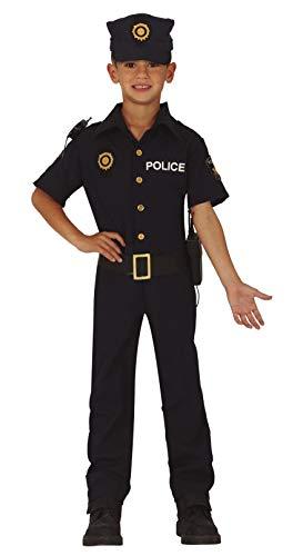 FIESTAS GUIRCA Disfraz de policía de Distrito de niño Estadounidense