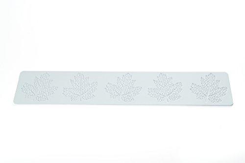 silikomart Wonder Cakes by 23.090.87.0069TRD 10Tappetino per Merletti, Zucchero, Motivo Ornamentale Silicone Bianco 0,5x 9,5x 42cm