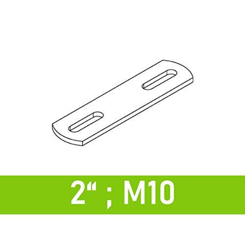 """Steg für Bügelschrauben 2\"""" (60,3 mm) - M10"""