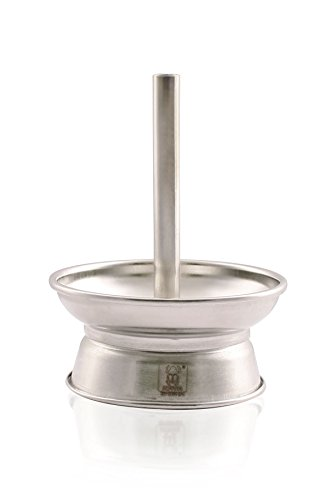 Kaminkopf-Oberteil mit Rand Tabakkopf-Aufsatz Kamin-Kopf für Shisha-Kohle auf Tabakköpfen mit Durchmesser von ca. 7cm