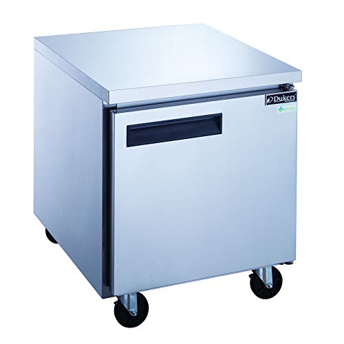 Dukers DUC29R 7 cu. ft. Single Door Undercounter Refrigerator in Stainless Steel