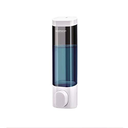 Dispensadores de loción Dispensador de jabón de hotel de Sanitizer de Mano Dispensador de inodoro Montado en pared Detergente Presione Botella de botella Punzonado gratis y sin lastimar la pared jabón