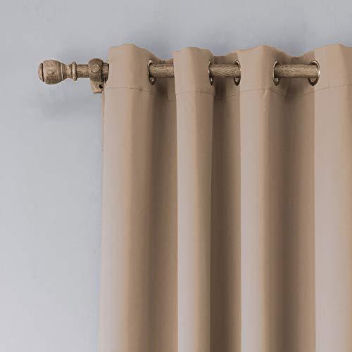 BOLO Cortina transparente – Cortinas de gasa decorativas a juego con paneles de cortina opacas de tul blanco sólido para casa/boda, 140 x 160 cm