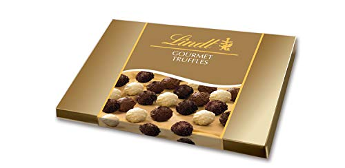 Lindt Gourmet Truffles, Gift Box, Chocolate, 16.6 Ounce