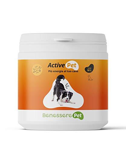 DYNAMOPET BenesserePet Active Integratore Alimentare Vitaminico per Cani e Gatti, Fonte di Energia per Il Tuo Animale, Supporto alle Funzioni Fisiologiche, per attività Fisica intensa (200 gr)