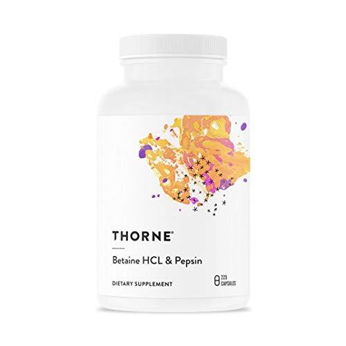 Betaine HCl & Pepsin 225 Kps von Thorne Research
