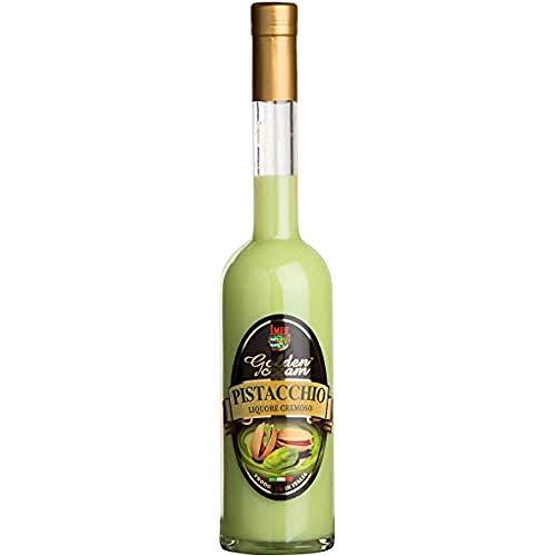 Distilleria Jannamico Golden Cream Pistacchio® - Pistazienlikör - Cremiger Likör aus Pistazien und italienischer Sahne. Liköre (1 x Bottle)