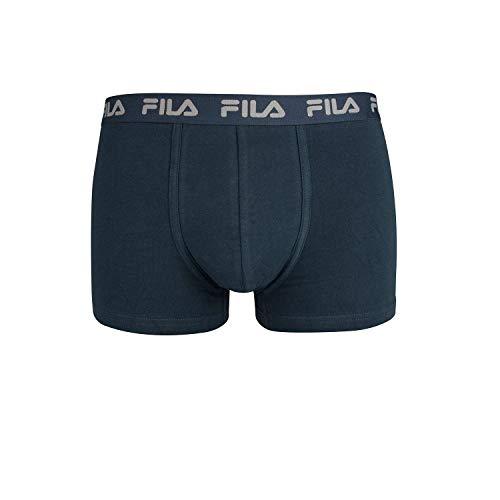 Fila FU5004, Boxer Uomo, Navy, XXL
