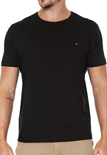 Camiseta Básica, Aramis, Masculino, Preto, G