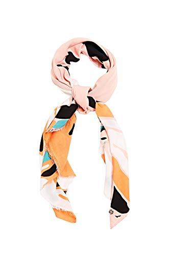 ESPRIT Accessoires Damen 030EA1Q305 Mode-Schal, 860/SALMON, 1SIZE