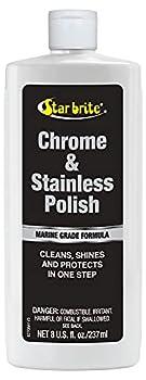 STAR BRITE 82708 Marine Grade Chrome & Stainless Steel Cleaner Polish & Protectant