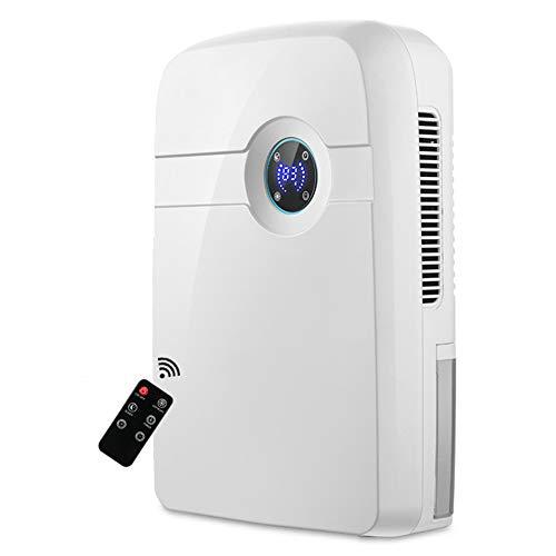 LFF SHAVER El deshumidificador, el deshumidificador de Aire para la descongelación del hogar Puede ser de Pantalla LED programada, 25W, 45W, Adecuada para 21-30 Metros Cuadrados (㎡),Blanco,25W