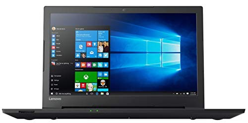 Lenovo Notebook (15,6 Zoll), AMD A4-9125 Dual Core 2 x 2.60 GHz, 4 GB DDR4 RAM, 500 GB, HDMI, AMD Readon R3 Grafik, Webcam, Windows 10 Pro