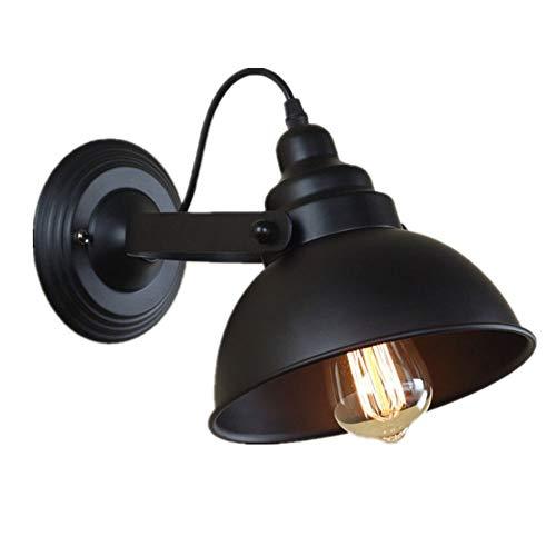 Lámpara de pared retro americana, hierro forjado, viento industrial, lámpara de pared LED ajustable que se puede utilizar for el pasillo del hotel sala de estar dormitorio junto a la cama pasillo pasi