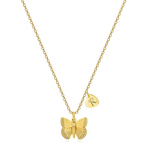 50% off Women's Butterfly Initial Necklace Use Promo Code: 50C7CETR Works on all options with a quantity limit of 1 2