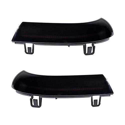 2x Dynamic Flashing Design LED Rearview Mirror Turn Signal Indicator Blinker Light Compatible with VW Golf 5 MK5 Passat B5.5 B6 EOS Jetta