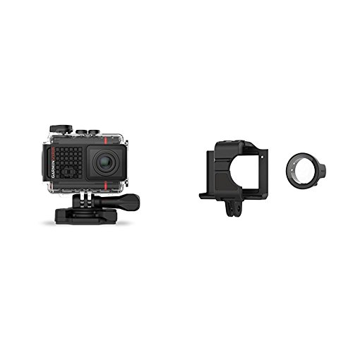 Garmin VIRB Ultra 30 Action Camera and VIRB Ultra Cage + Protectie Lens Bundle