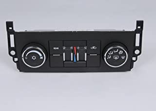 ACDelco 15-74003 GM Original Equipment Heating and Air Conditioning Control Panel with Rear Window Defogger Switch