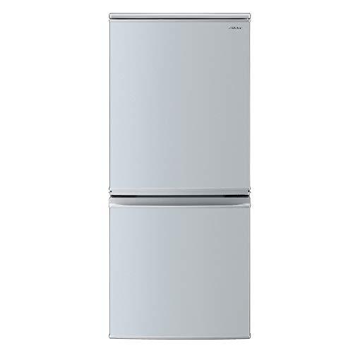 シャープSHARP冷蔵庫(幅48.0cm)137Lつけかえどっちもドア2ドアシルバー系SJ-D14E-S