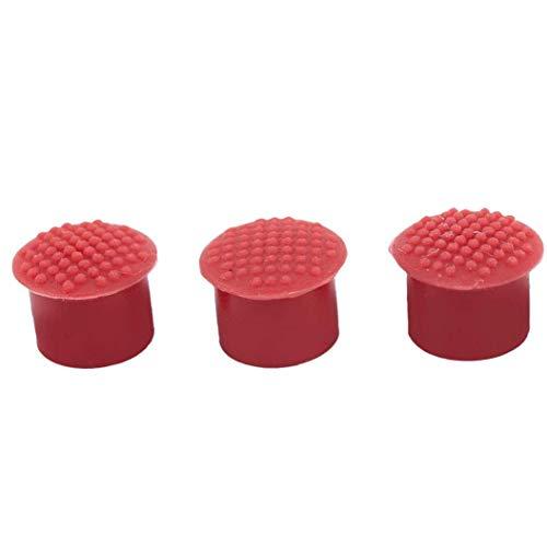Repuesto de Portátil Track Point Duradero Punto de la Pista de Silicona Cap Duradero Ordenador palillo de Pezón Compatible para 3pcs IBM/Lenovo ThinkPad Rojo, la Cubierta del Teclado