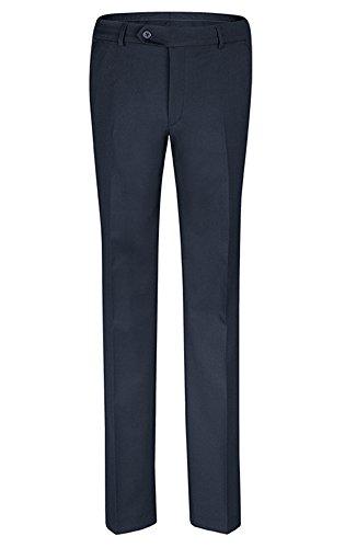 GREIFF Slim Fit Herren Hose mit elastischem Bund | 3 Taschen | Service | Farbe: Marine | Größe: 46
