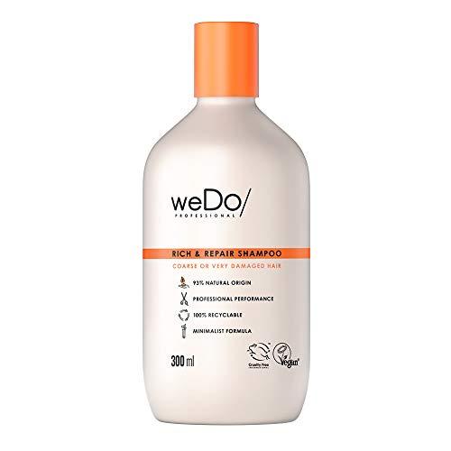 weDo/Professional Rich & Repair Shampoo gegen Haarbruch für kräftiges widerspenstiges oder sehr strapaziertes Haar 300 ml
