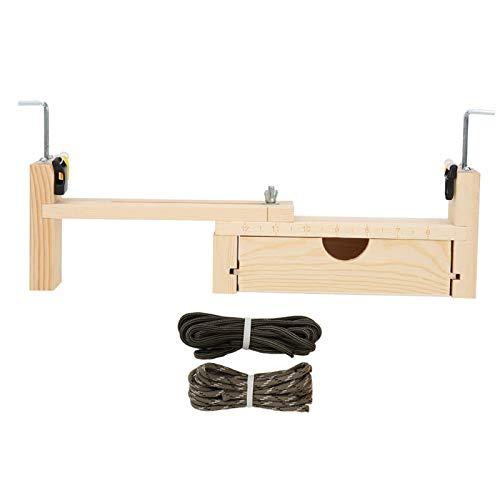 Bracelet Braiding Tool,Paracord Bracelet Weaving Jig Kit Wooden Adjustable Wristband Necklace Maker DIY Craft Fixing Tool