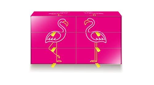 Lines Cofanetto Idea Regalo con 22 Prodotti Assorbenti, con Pochette e la Guida al Primo Ciclo, Ottimo per Un'Occasione Speciale, Design Flamingo, Edizione Limitata