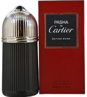 Cartier Pasha de Cartier Edition Noire Eau de Toilette Spray for Men, 3.3 Ounce